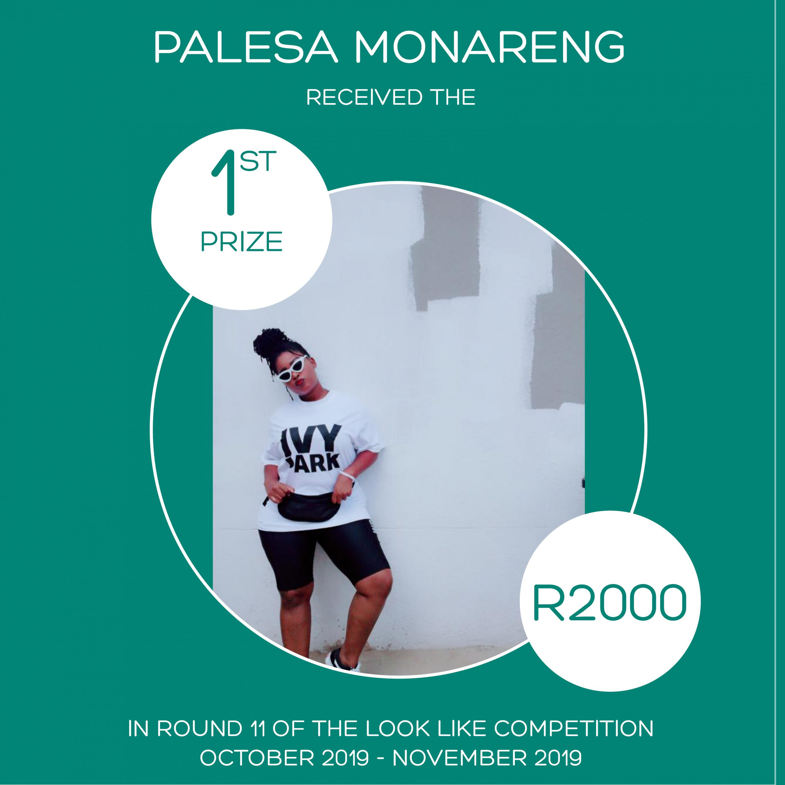 ROUND 11 – FLASH FASHION ROUND – 1ST PRIZE – PALESA MONARENG