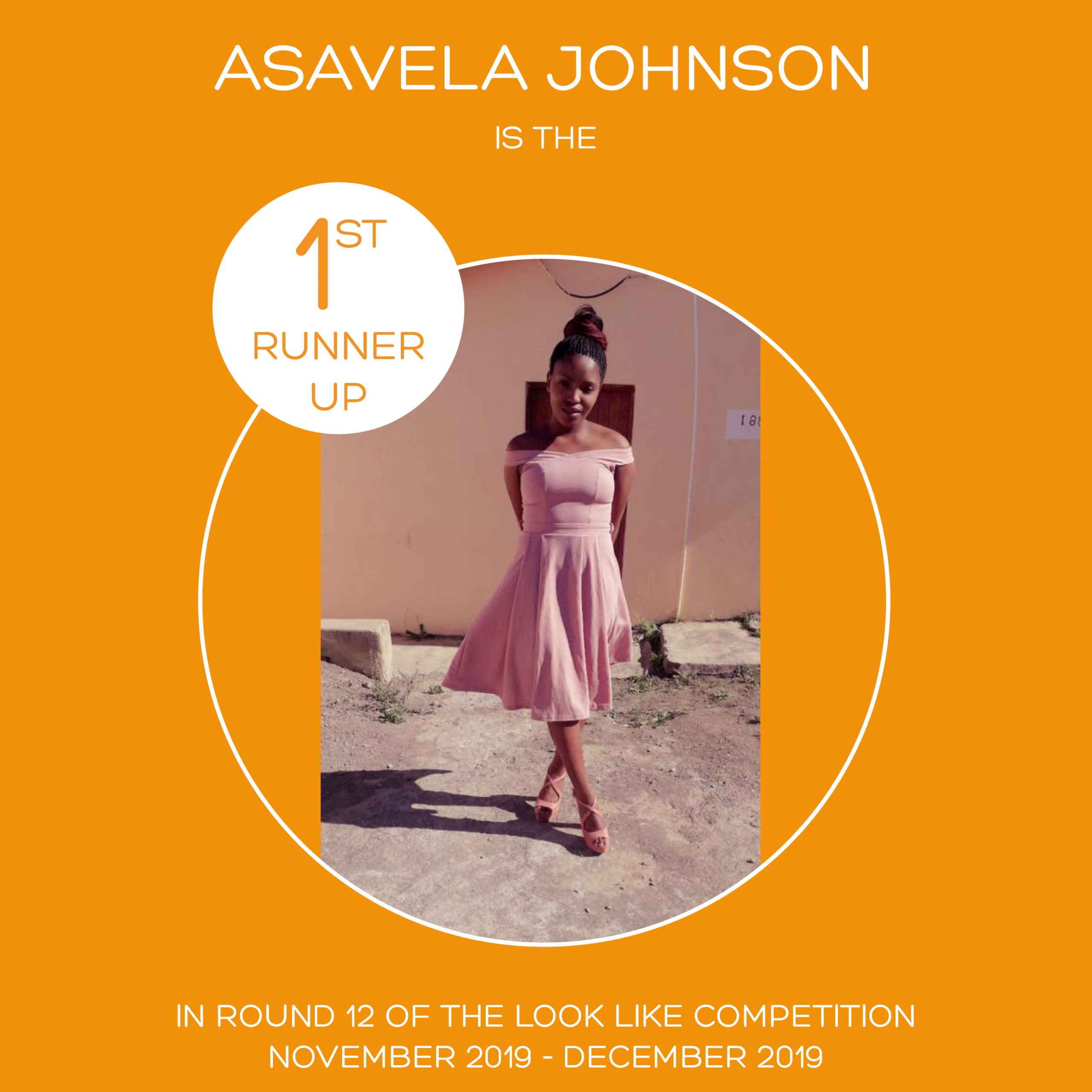 ROUND 12 – FLASH FASHION ROUND – 1ST RUNNER UP – ASAVELA JOHNSON